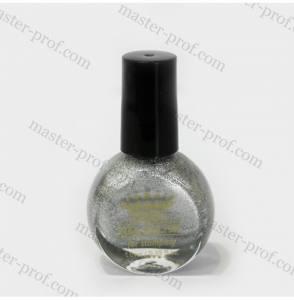 Лак-краска для стемпинга Master 10мл серебро