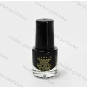 Лак-краска для стемпинга Master 5мл черная