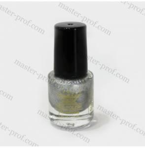 Лак-краска для стемпинга Master 5мл серебро