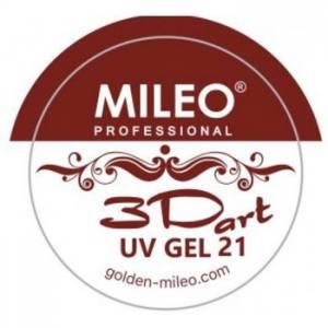 3D гель для лепки Mileo №21