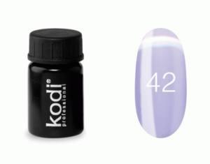 Гель-краска Kodi №42 свело-фиолетовый
