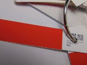 Фольга для кракелюра красная 1м