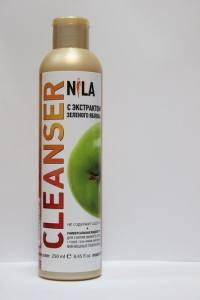 Жидкость для снятия липкого слоя  Nila 250мл  яблоко