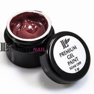 Гель-краска Beauty nail №6 бордовая