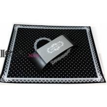 Подставка для маникюра Arm Rest с ковриком черная