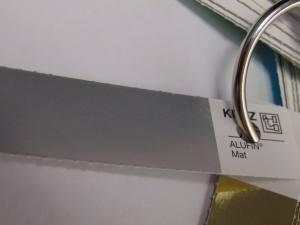 Фольга для литья серебро матовое 1м