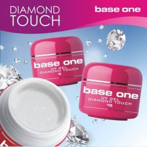 Прозрачный гель с микроблестками Diamond Touch