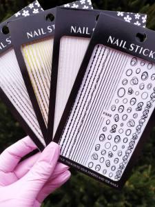 Наклейка для дизайна ногтей Nail Sticker F550