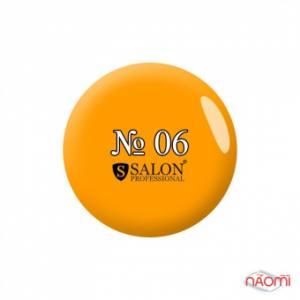 Акриловая краска № 6 Salon Professinal 3 мл, цвет желтый