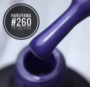 Гель-лак Haruyama Классика №260, фиалково-сиреневый, 8 мл