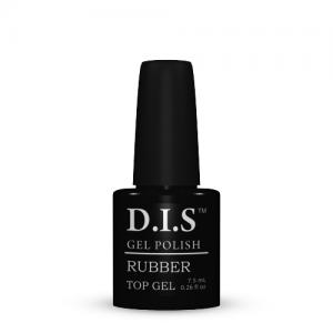 Топ каучуковый для гель-лака D.I.S Nails  Rubber Top Gel  7.5мл