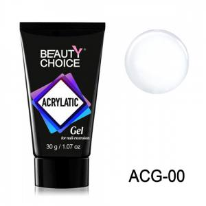Полигель Acrylatic Beauty Choice 15г прозрачный
