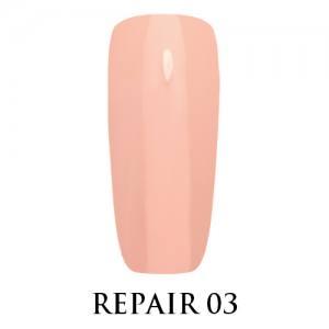 Базовое покрытие для ослабленных ногтей Repair Base Gel Adore №03 светлый нюд