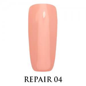 Базовое покрытие для ослабленных ногтей Repair Base Gel Adore №04 персиковый нюд