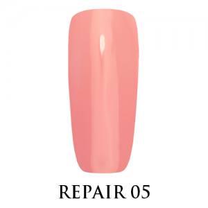 Базовое покрытие для ослабленных ногтей Repair Base Gel Adore №05 бежево-розовый