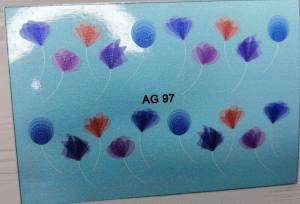 Водный слайдер Имитация аэрографии 97 цветной