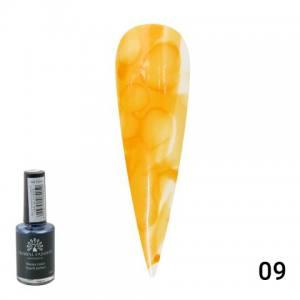 Акварельные капли Water color от Global Fashion 10 мл orange 09