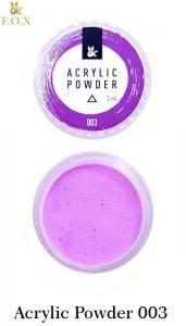 Акриловая пудра  F.O.X Acrylic Powder 3г №3