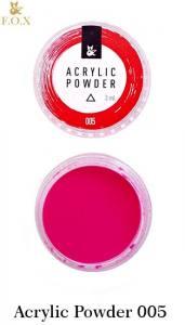 Акриловая пудра  F.O.X Acrylic Powder 3г №5