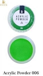 Акриловая пудра  F.O.X Acrylic Powder 3г №6