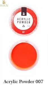 Акриловая пудра  F.O.X Acrylic Powder 3г №7