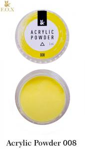 Акриловая пудра  F.O.X Acrylic Powder 3г №8