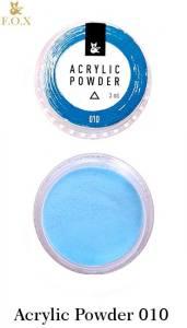 Акриловая пудра  F.O.X Acrylic Powder 3г №10