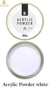 Акриловая пудра белая F.O.X Acrylic Powder 50г