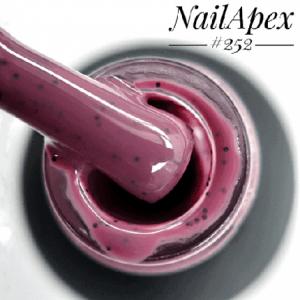 Гель-лак NailApex 6 мл 252 крошка