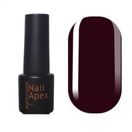Гель-лак NailApex 6 мл 295  темный бордовый, эмаль
