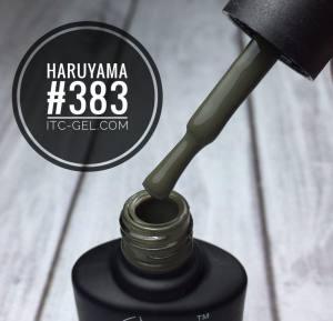 Гель-лак Haruyama Классика №383, хаки, 8 мл