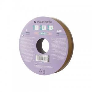 Запасной блок файл-ленты для катушки Bobbi Nail 240 грит (8 м) STALEKS PRO ATS-240