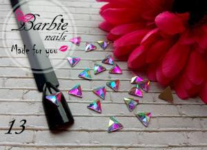 Стразы фигурные стекло BarbieNails 1шт №13