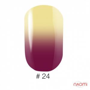 Гель-лак Naomi Thermo Collection 24, 6 мл