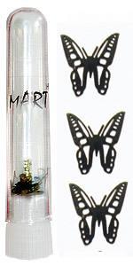 Логотип Mart 02 Бабочка 20шт в колбе