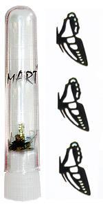 Логотип Mart 03 Бабочка половинка 20шт в колбе