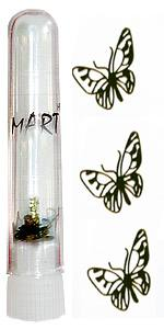 Логотип Mart 04 Бабочка ажурная 20шт в колбе