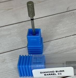 Фреза алмазная LBS Bаrrel XC синий цилиндр