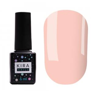 Цветная база Kira Nails Color Base 001 (розовый нюд), 6 мл