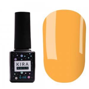 Цветная база Kira Nails Color Base 005 (мандариновый), 6 мл