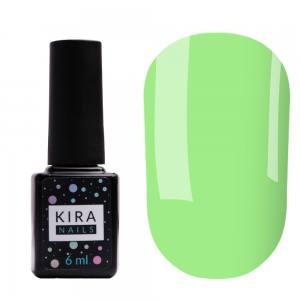 Цветная база Kira Nails Color Base 006 (лаймовый), 6 мл