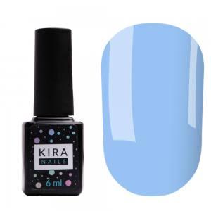 Цветная база Kira Nails Color Base 007 (лазурный), 6 мл
