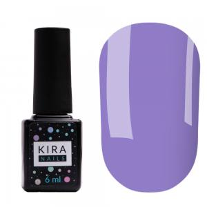 Цветная база Kira Nails Color Base 010 (лилово-голубой), 6 мл