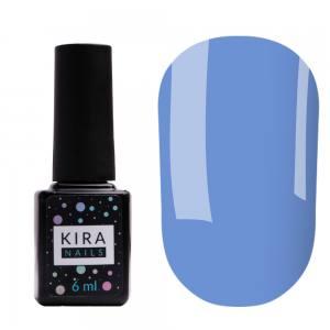 Цветная база Kira Nails Color Base 011 (светло-синий), 6 мл