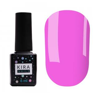 Цветная база Kira Nails Color Base 014 (розовый), 6 мл