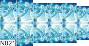 Слайдер водный на прозрачной пленке N021