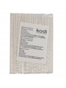 Набор пилок для ногтей Kodi 120/120, цвет: белый (50шт/уп)