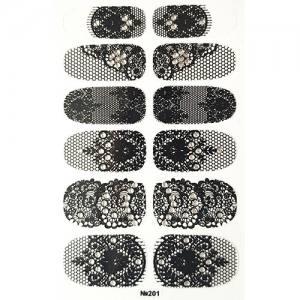 Самоклеющаяся наклейка для ногтей 201
