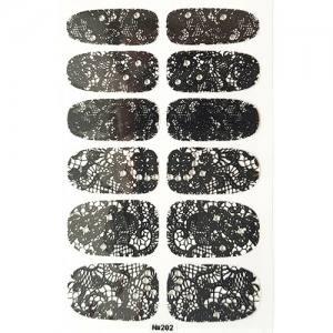 Самоклеющаяся наклейка для ногтей 202