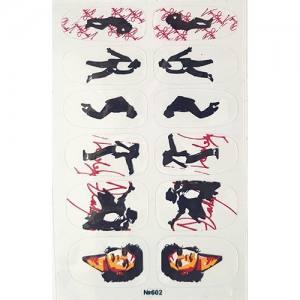 Самоклеющаяся наклейка для ногтей 602